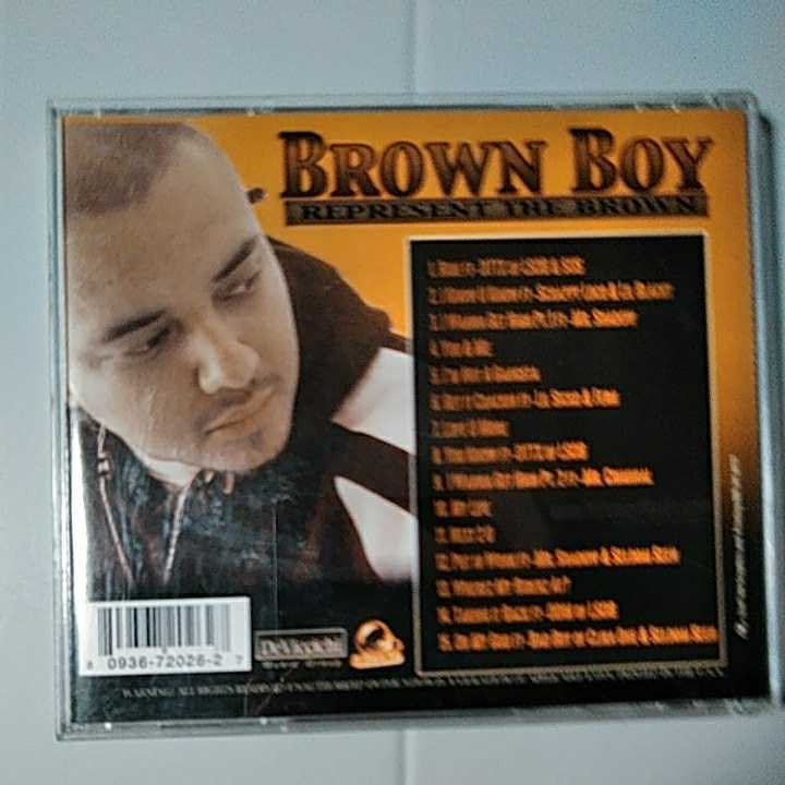 【G Rap / CHICANO /送料込み】BROWN BOY