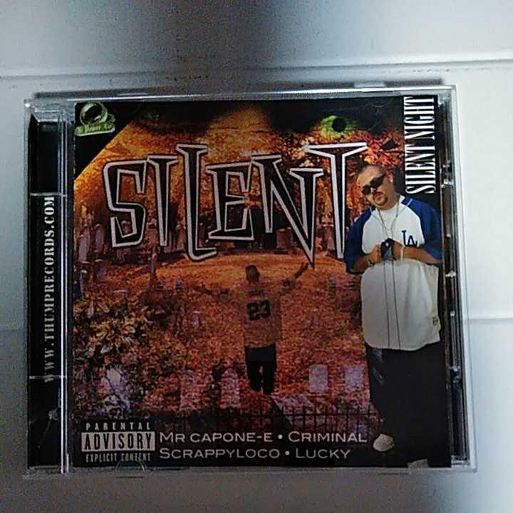 【G Rap / CHICANO / 送料込み】SILENT