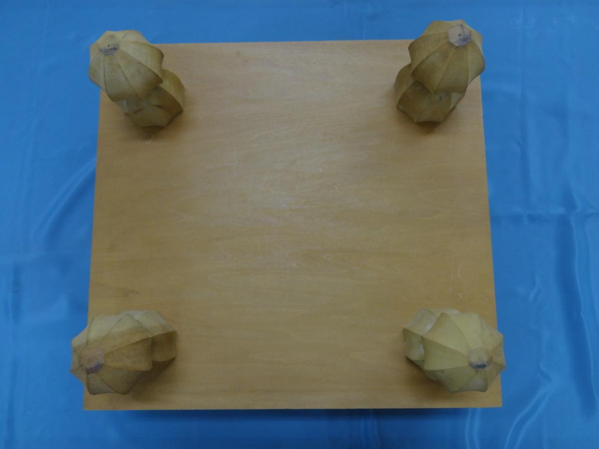 【中古品】碁盤セット 碁石付き_画像3