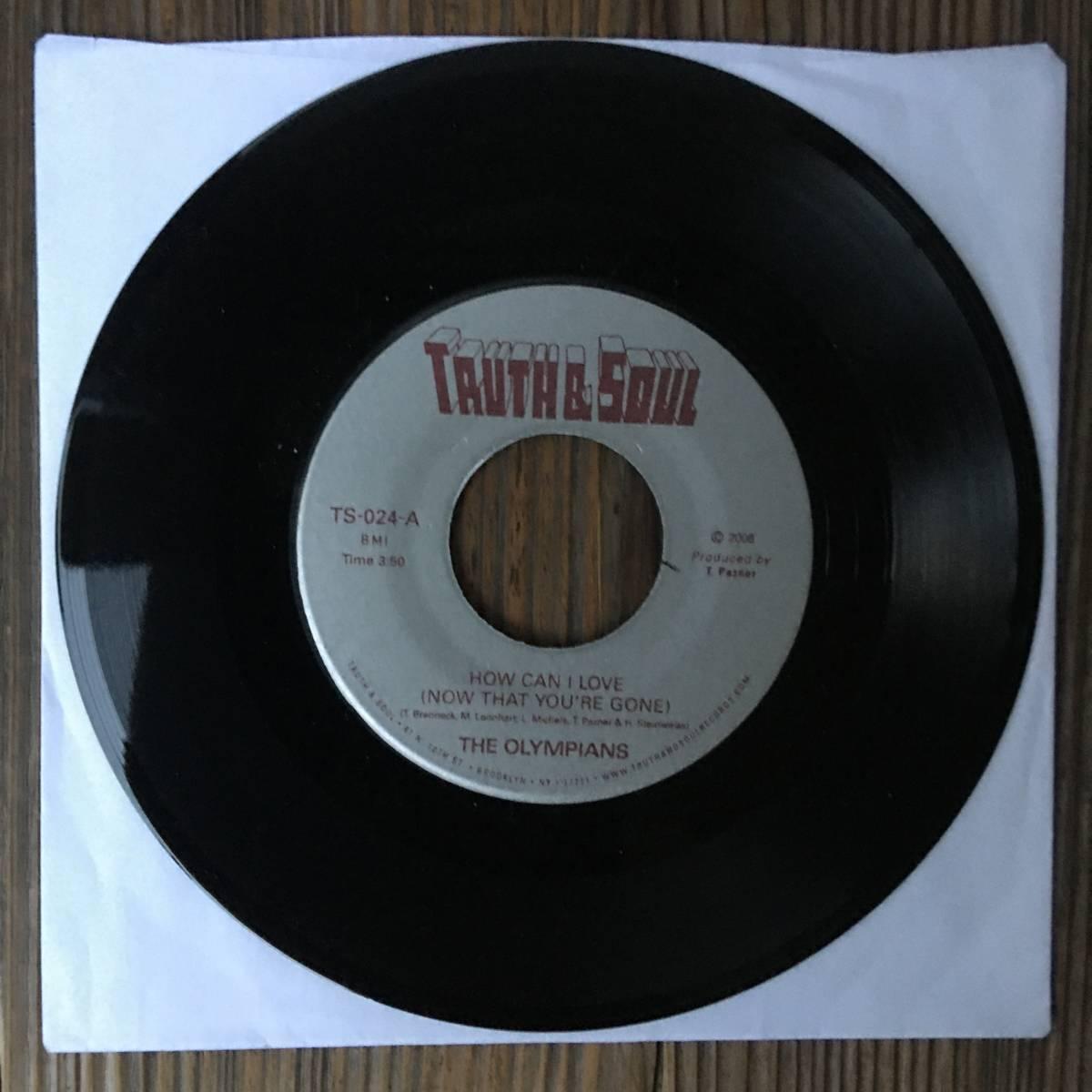 【送料無料!新品未使用7inch!groovy soul!mellow funk!】The Olympians - How Can I Love (Now That You're Gone) / Stand Tall