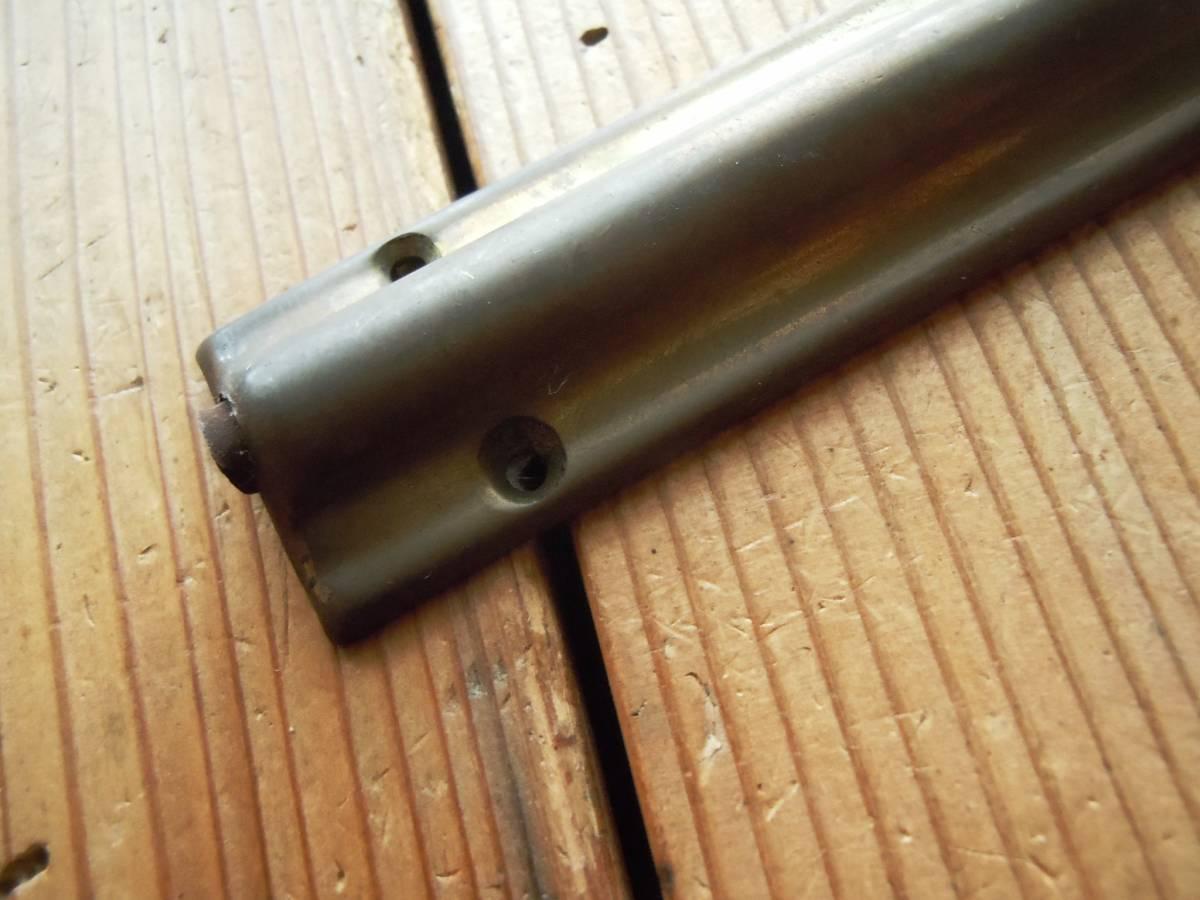 *即決*古い真鍮鋳物の丸落とし(約303mm)*古道具*ドア金物*アンティーク*デッドストック*丸落*洋館*_画像3