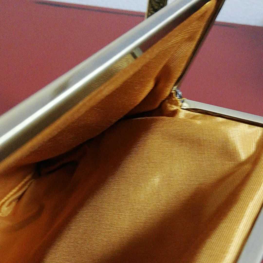 【新品】京都発★あやの小路 AYANOKOJI★がま口★ポーチ 大★ドキュメントケース★クラッチバッグ