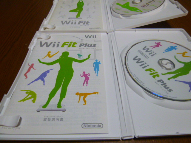 H2【送料無料】Wii ソフト セット Wiiフィット Wiiフィットプラス (クリーニング 動作確認済)まとめ
