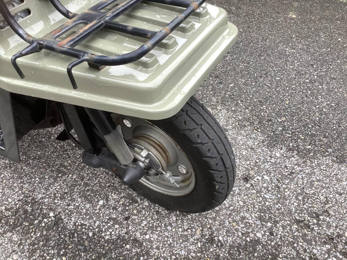 「ホンダTD01 24番台ジャイロX エンジン好調 リヤタイヤ新品交換 消耗品新品交換ミニカー登録 全塗装済即日配達可 引取 合流 発送対応」の画像3