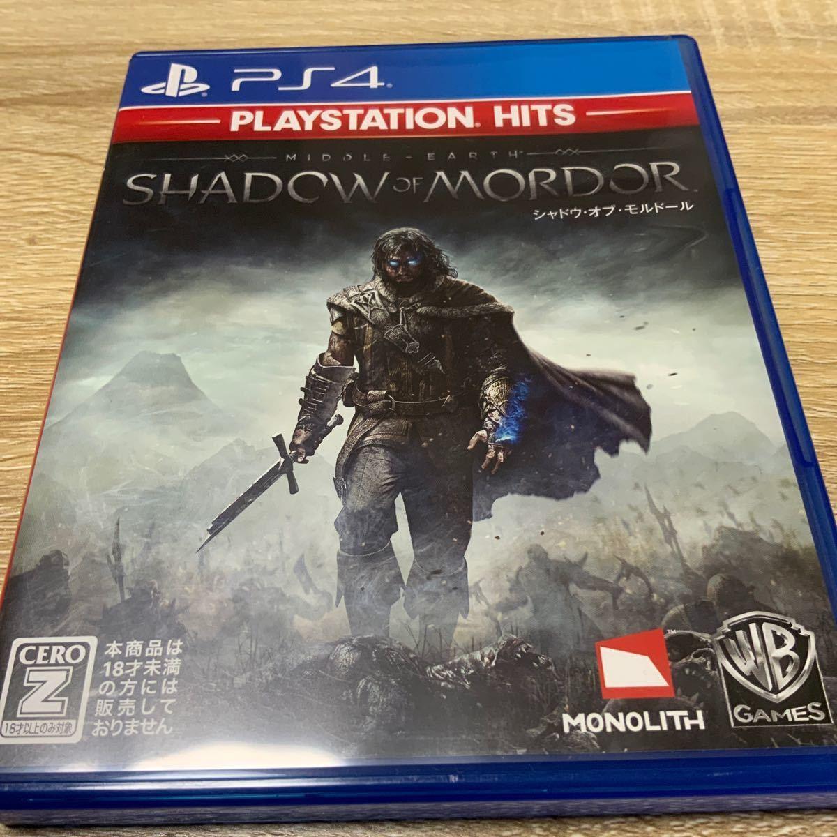 PS4 シャドウオブウォー シャドウオブモルドール