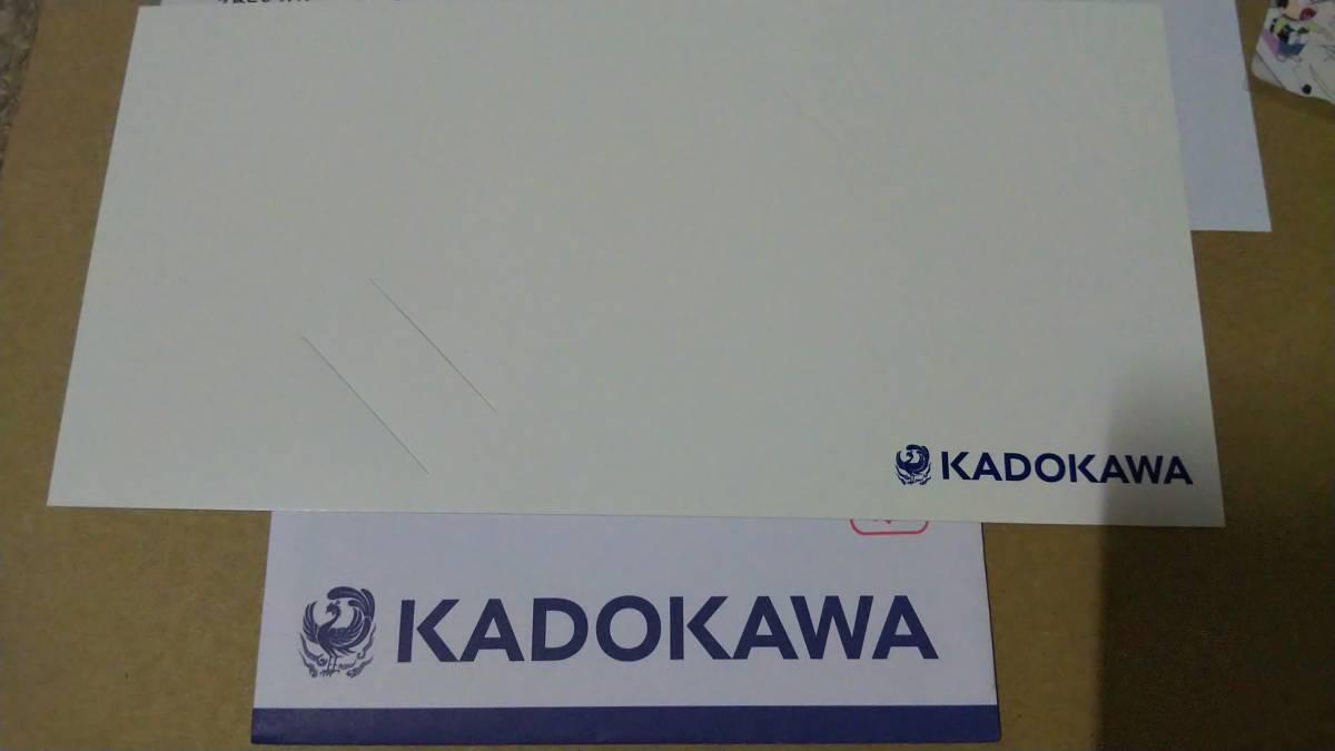 非売品 懸賞 抽プレ おそ松さん ニュータイプ Newtype クオカード QUOカード 封筒 台紙 当選通知付き 状態良好_画像3