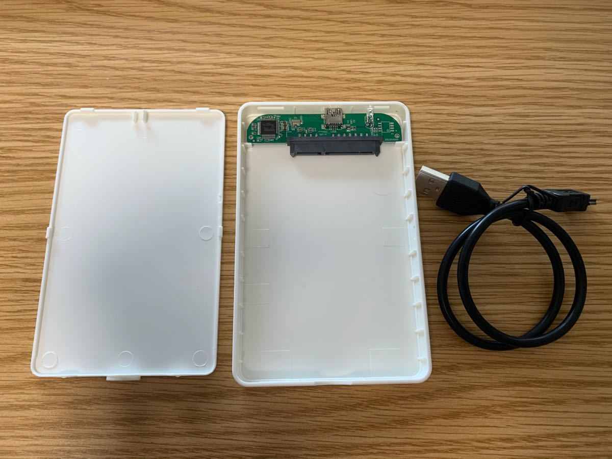 USB2.0 sata外部 SSD HDD ハードドライブケース