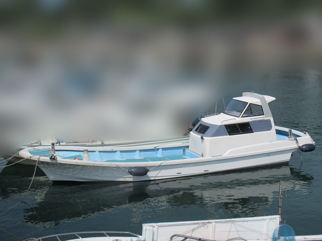 「日産 34ft ドライブ船 H5年進水 愛媛県 現状 格安」の画像1