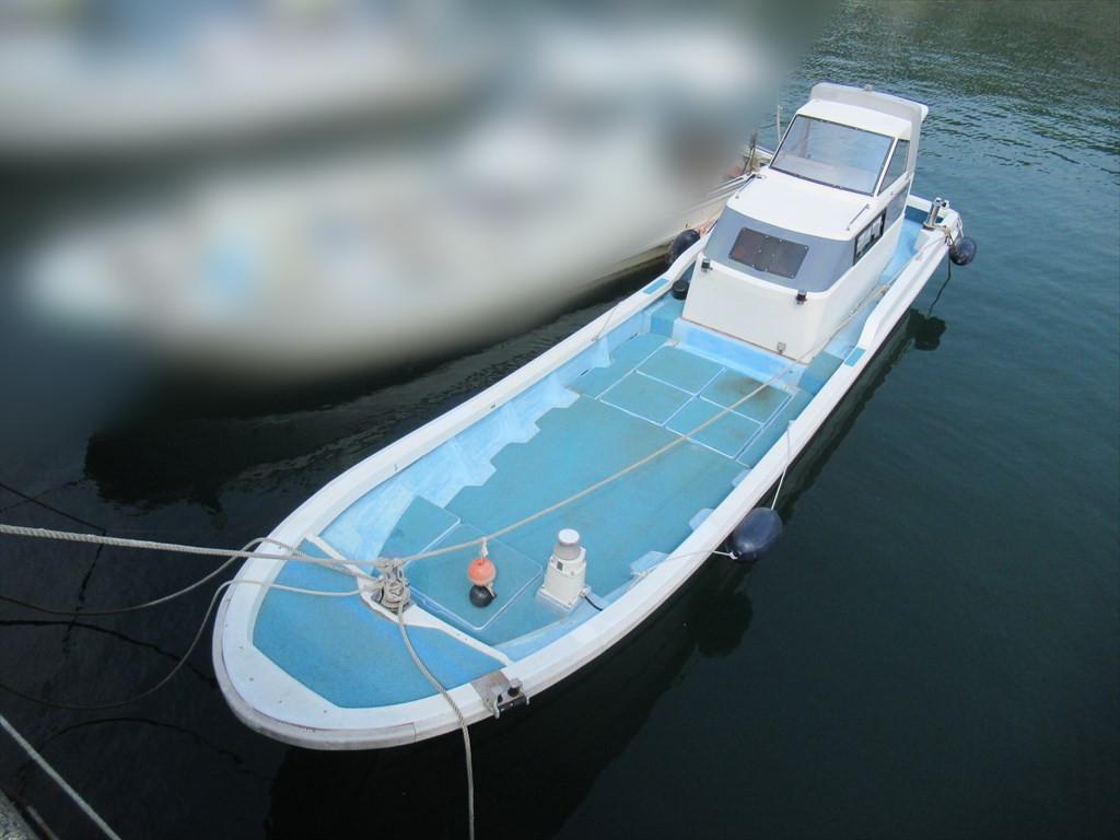 「日産 34ft ドライブ船 H5年進水 愛媛県 現状 格安」の画像2