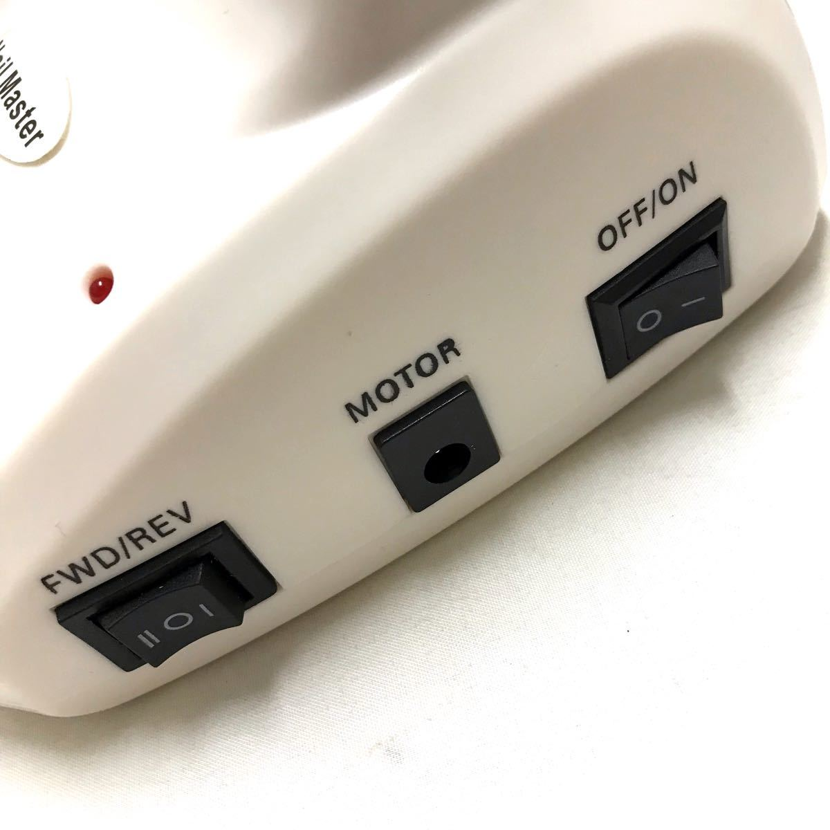 ネイルポリッシャー ネイルマシン ビット6種類 ネイルアート ネイルケア 時短