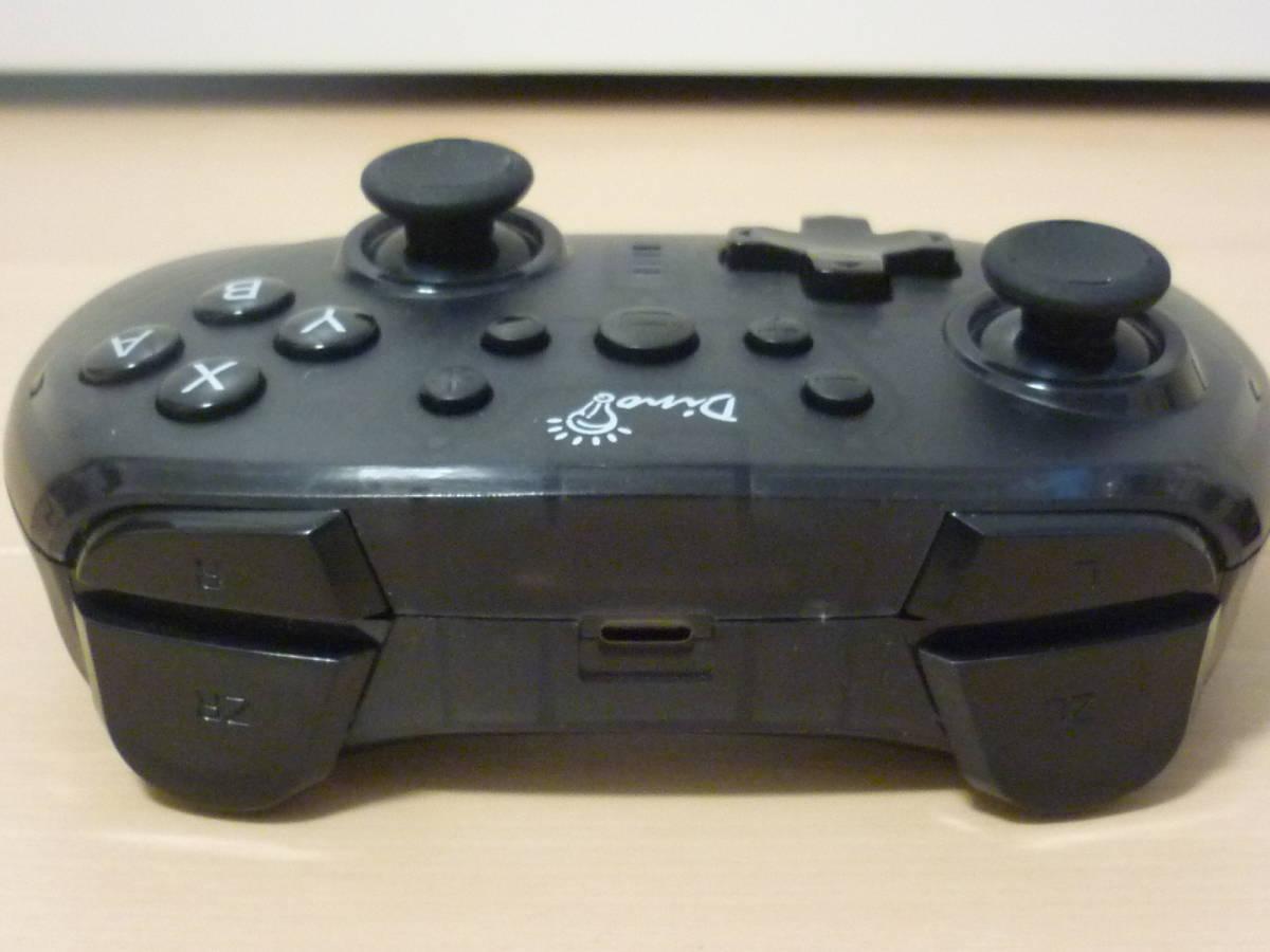 ■◇ Switch Dinofire Gamepad ワイヤレスコントローラー 無線タイプ 動作確認済 中古 即決_画像6