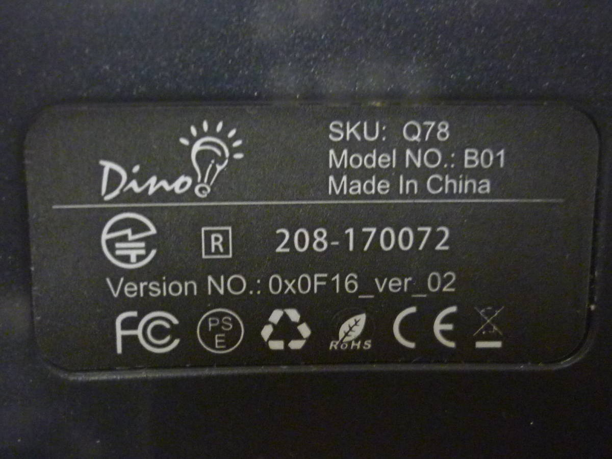 ■◇ Switch Dinofire Gamepad ワイヤレスコントローラー 無線タイプ 動作確認済 中古 即決_画像7