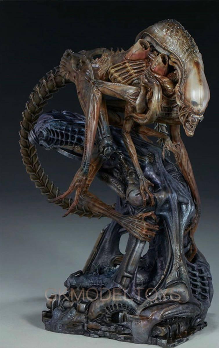 エイリアン Alien warrior エイリアン戦士 フィギュア 海外sideshowスタジオ限定品 塗装済み完成品1/4スタチュー値下げ交渉可能