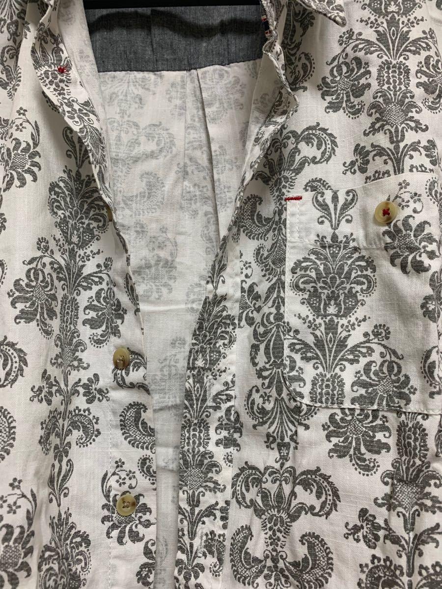 メンズ 半袖シャツ アロハシャツ シャツ 新品未使用 美品