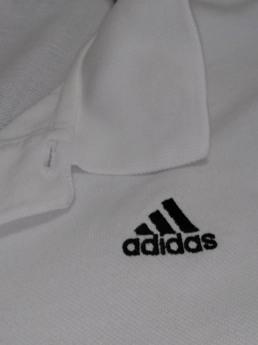 adidas   アディダス / 胸元ロゴ入り半袖ポロシャツ / 3XO(2L) ☆良品☆