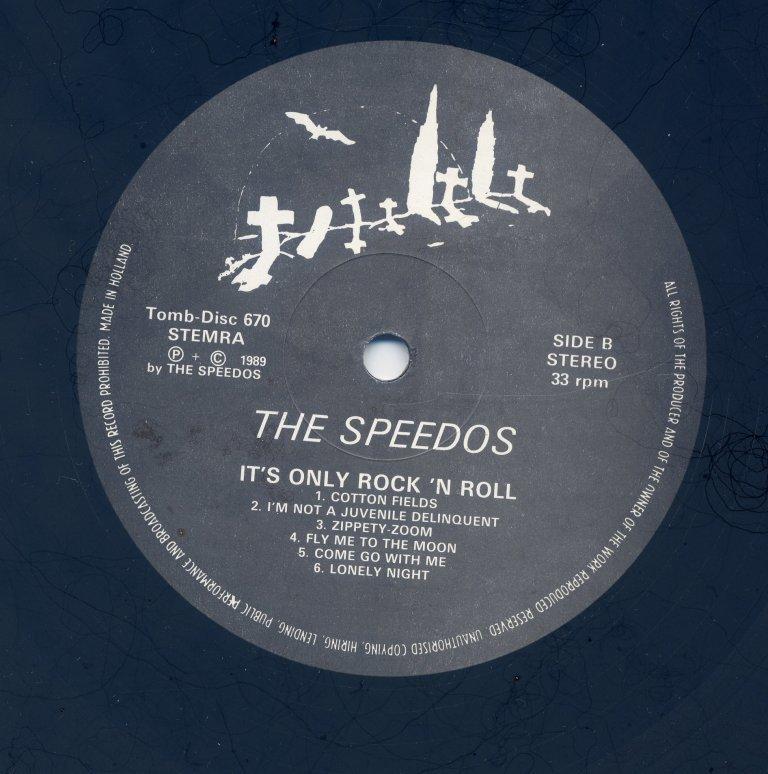 ◆ ドイツ ネオロカ ◆ SPEEDOS / It's Only Rock and Roll (LP) ◆ ロカビリー Rockabilly Jive Doowop サイコビリーPsychobilly ◆_画像4