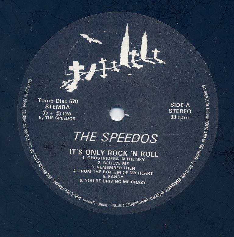 ◆ ドイツ ネオロカ ◆ SPEEDOS / It's Only Rock and Roll (LP) ◆ ロカビリー Rockabilly Jive Doowop サイコビリーPsychobilly ◆_画像3