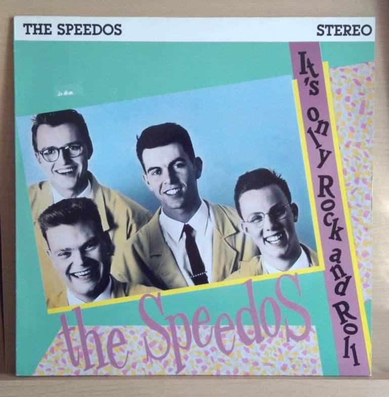 ◆ ドイツ ネオロカ ◆ SPEEDOS / It's Only Rock and Roll (LP) ◆ ロカビリー Rockabilly Jive Doowop サイコビリーPsychobilly ◆_画像1