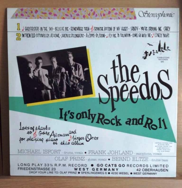 ◆ ドイツ ネオロカ ◆ SPEEDOS / It's Only Rock and Roll (LP) ◆ ロカビリー Rockabilly Jive Doowop サイコビリーPsychobilly ◆_画像2