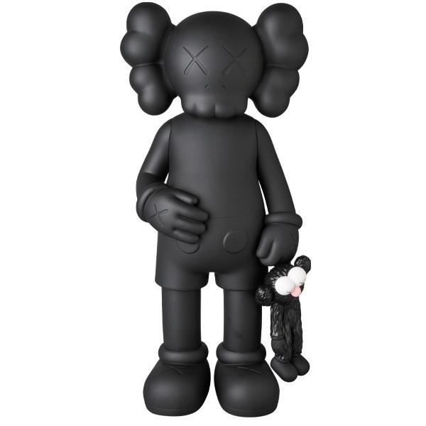 新品未開封 KAWS SHARE BLACK 黒 カウズ MEDICOM TOY メディコム・トイ 国内正規品_画像1