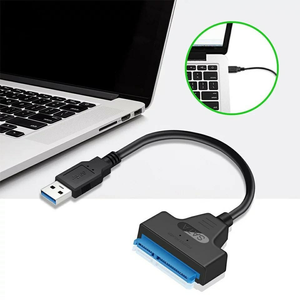 USB3.0 SATA 変換ケーブル HDD SSD等に!