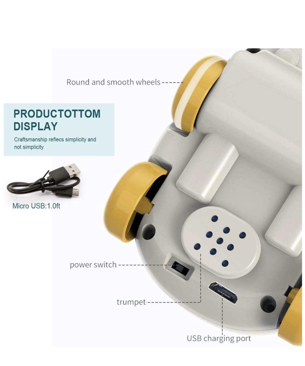 ラジコンカー こども向け リモコンカー フォローモード 障害物回避モード パストラックモード 電動カー おもちゃ 車無線 LED搭載