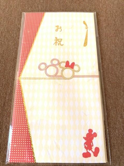 ディズニー ポチ袋/祝儀袋 ミッキー 6枚セット 未開封_画像3