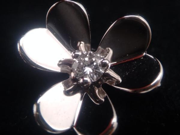 Van Cleef & Arpels/K18 ダイヤモンド/フリヴォル/ピアス_画像5
