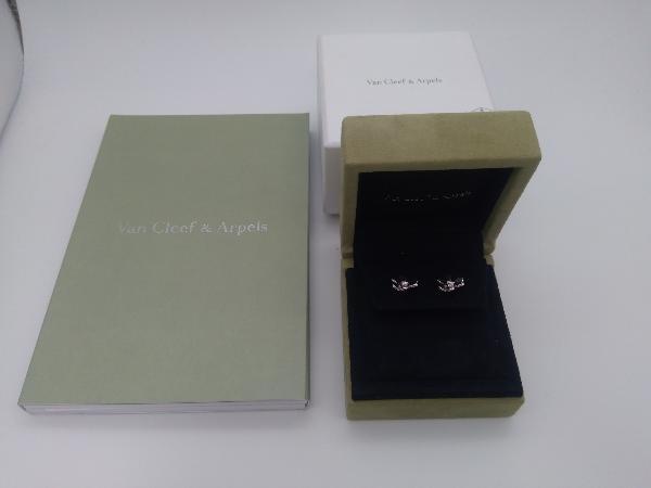 Van Cleef & Arpels/K18 ダイヤモンド/フリヴォル/ピアス_画像8