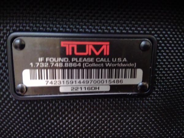TUMI/ALPHA 2/オーガナイザー/ショルダーバッグ_画像7