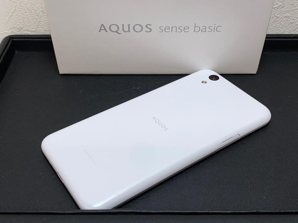 ※8817 702SH SHARP AQUOS sense basic Softbank スマホ Android_画像1