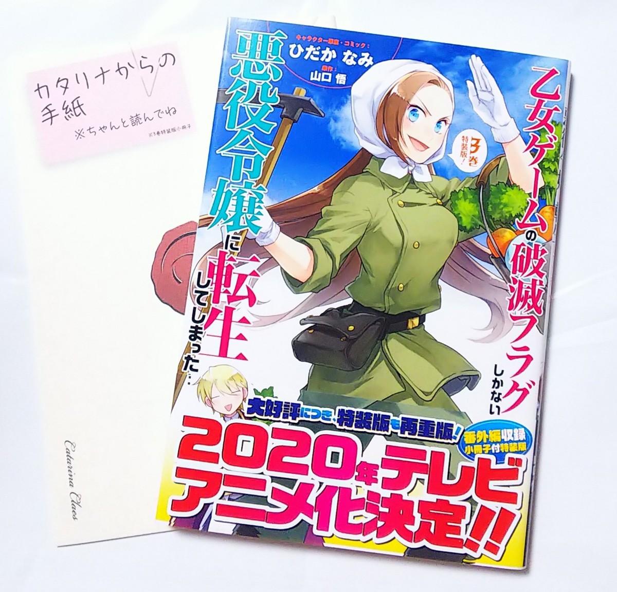 乙女ゲームの破滅フラグしかない悪役令嬢に転生してしまった 3 特装版