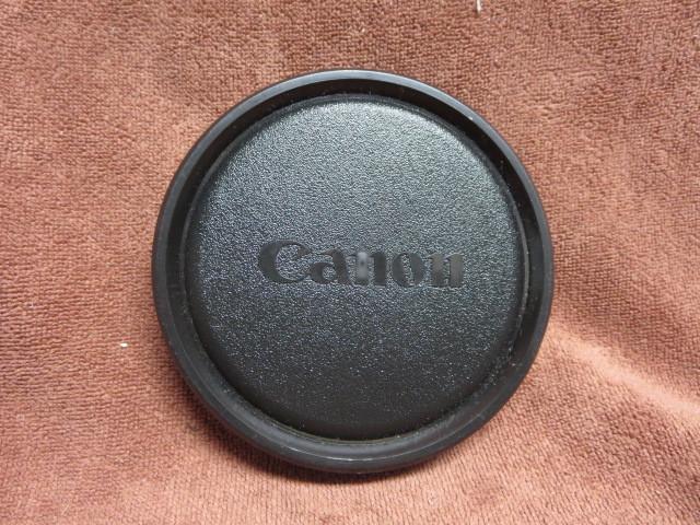 キャノン ビデオレンズキャップ 内径98mm用 中古品_画像1