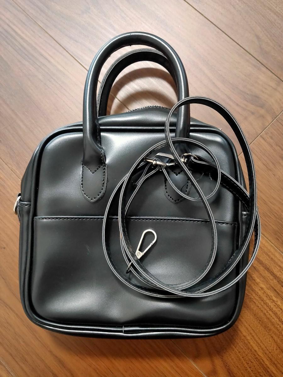 黒 ハンドバッグ ショルダーバッグ