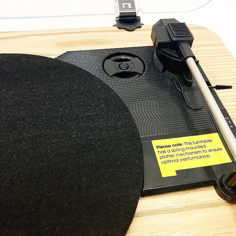 動作品 ION MAX LP アイオン オーディオ オールインワン USB ターンテーブル レコードプレーヤー スピーカー内蔵 alp梅912_画像3