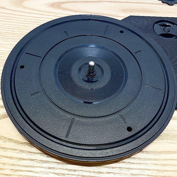 動作品 ION MAX LP アイオン オーディオ オールインワン USB ターンテーブル レコードプレーヤー スピーカー内蔵 alp梅912_画像4