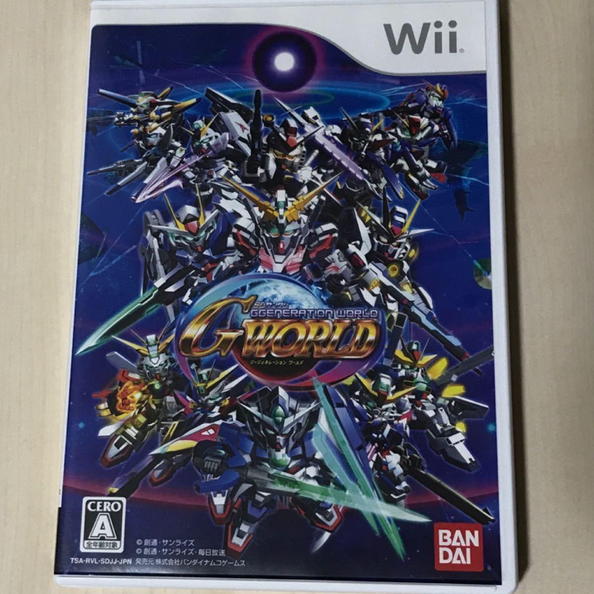 Wii  SDガンダム  ジージェネレーション ワールド