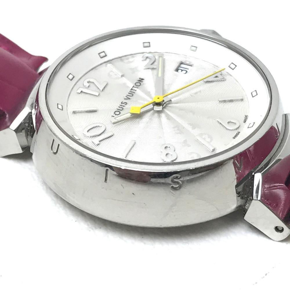 LOUIS VUITTON ルイヴィトン Q1313 レディース 腕時計 タンブール ホログラム クォーツ 腕時計 SS レディース_画像3