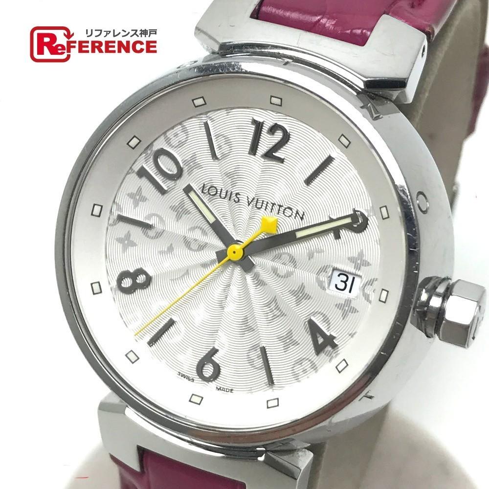 LOUIS VUITTON ルイヴィトン Q1313 レディース 腕時計 タンブール ホログラム クォーツ 腕時計 SS レディース_画像1