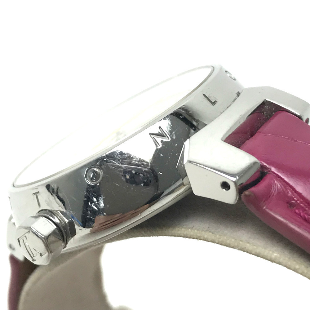 LOUIS VUITTON ルイヴィトン Q1313 レディース 腕時計 タンブール ホログラム クォーツ 腕時計 SS レディース_画像5