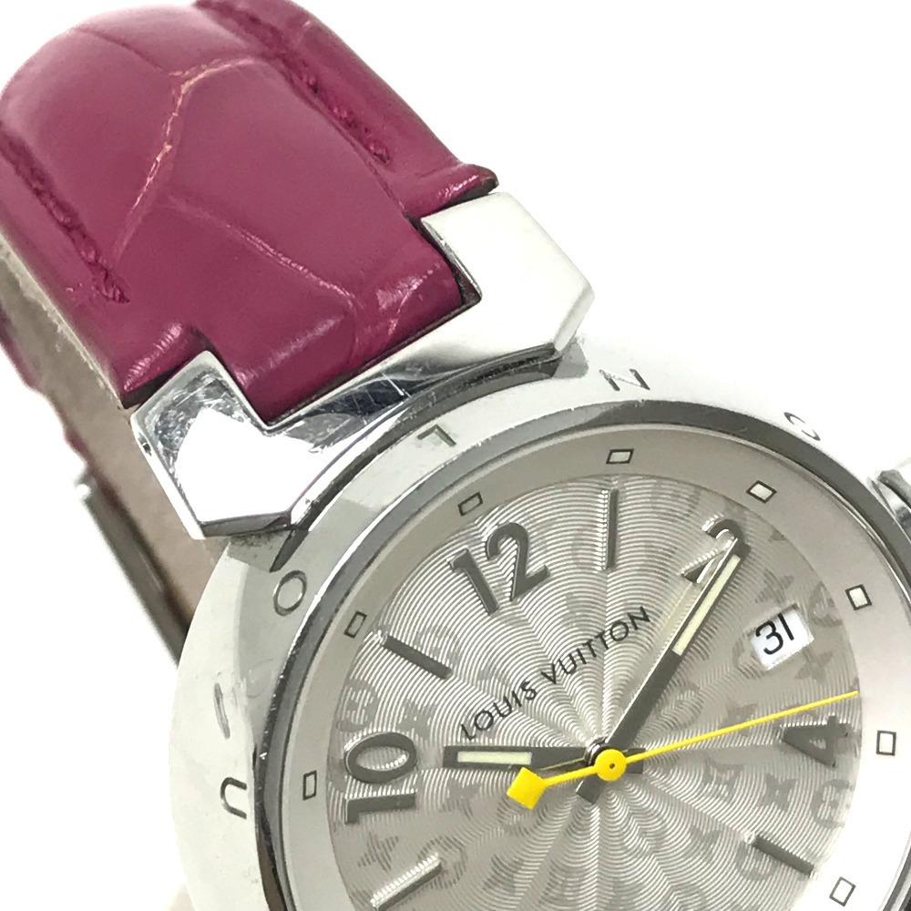 LOUIS VUITTON ルイヴィトン Q1313 レディース 腕時計 タンブール ホログラム クォーツ 腕時計 SS レディース_画像8