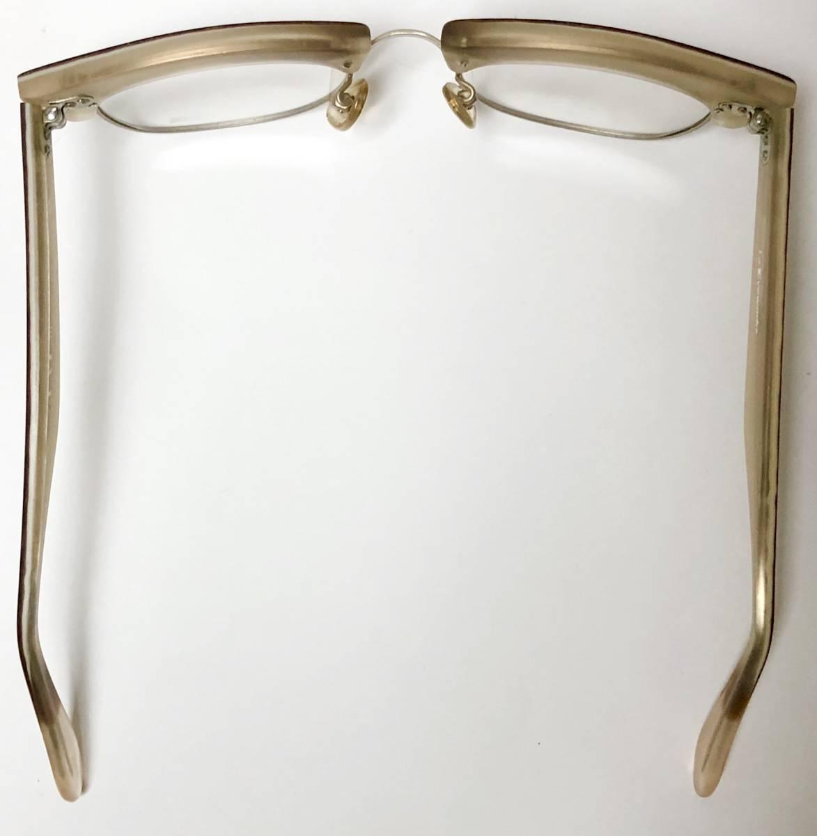 【ビンテージ・新品】1990年代 l.a. Eyeworks イタリア製 高級メガネ エルエーアイワークス ギガンター /ヴィンテージ 米国ブランド_画像8