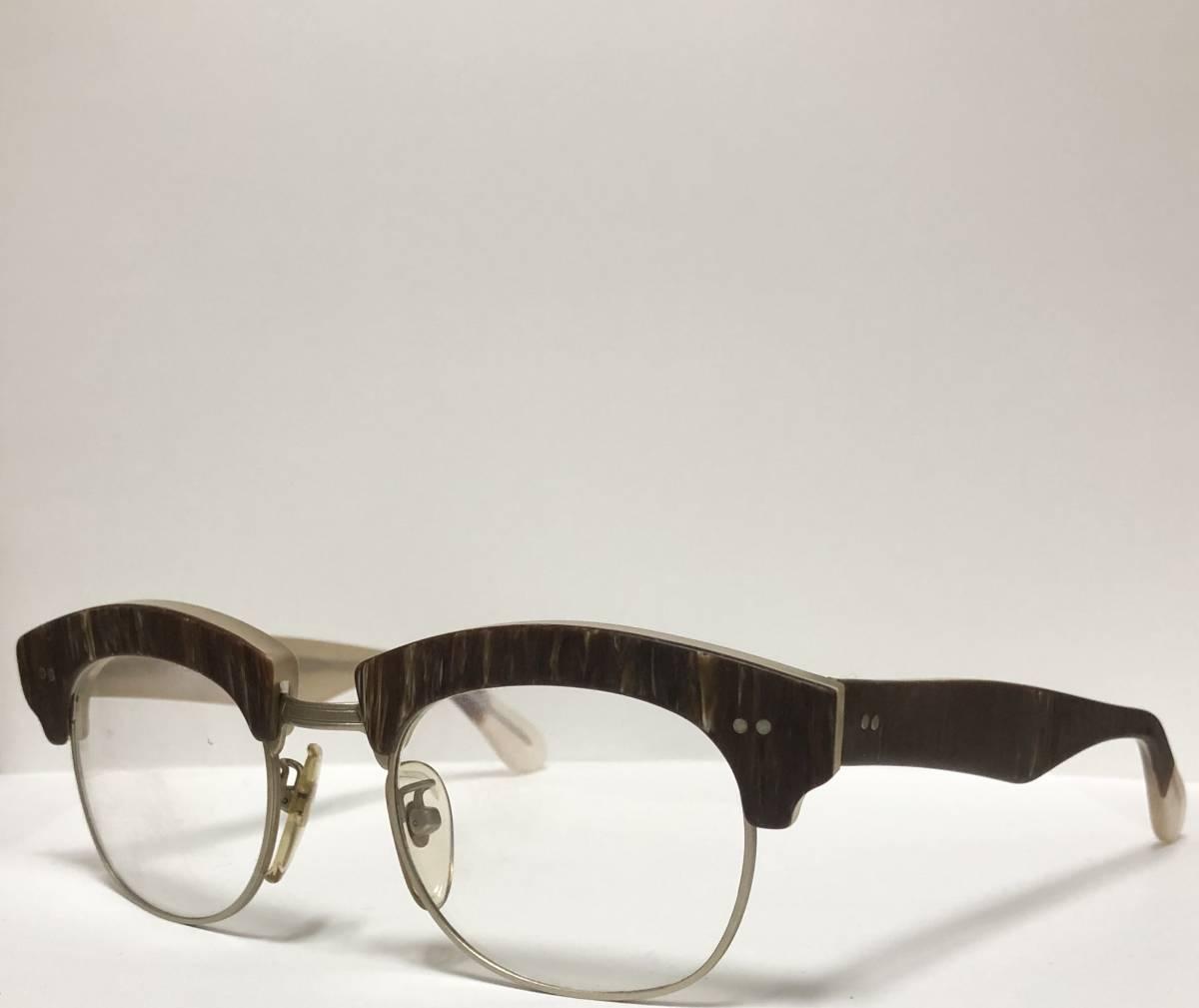【ビンテージ・新品】1990年代 l.a. Eyeworks イタリア製 高級メガネ エルエーアイワークス ギガンター /ヴィンテージ 米国ブランド_画像3