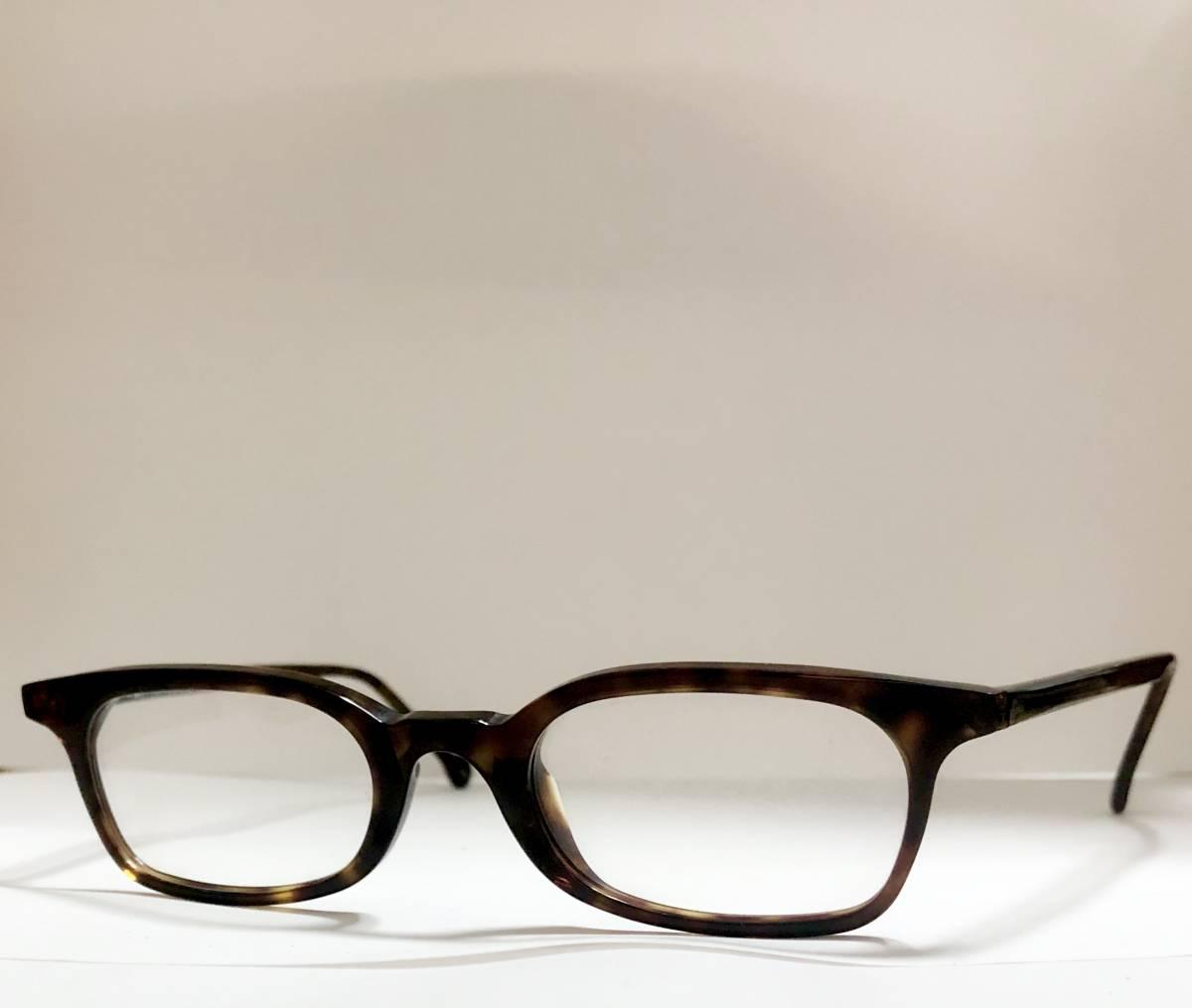 ビンテージ・未使用】1990年代 l.a. Eyeworks イタリア製 べっ甲色 高級メガネ エルエーアイワークス /ヴィンテージ 米国ブランド_画像3