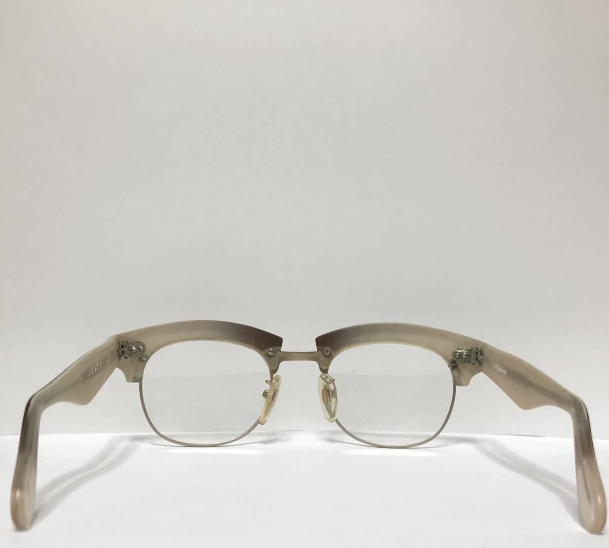 【ビンテージ・新品】1990年代 l.a. Eyeworks イタリア製 高級メガネ エルエーアイワークス ギガンター /ヴィンテージ 米国ブランド_画像7