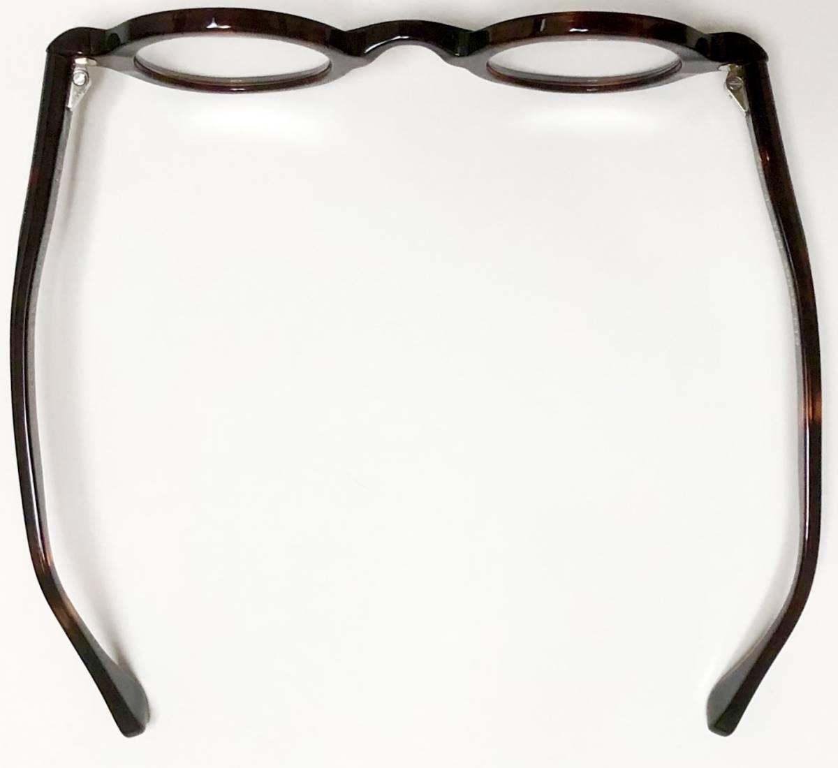 Vue dc. 新品未開封】極太 フレームフランス製 Frame France 一山式 丸メガネ 純正ケース付き ヴュードゥシー_画像8