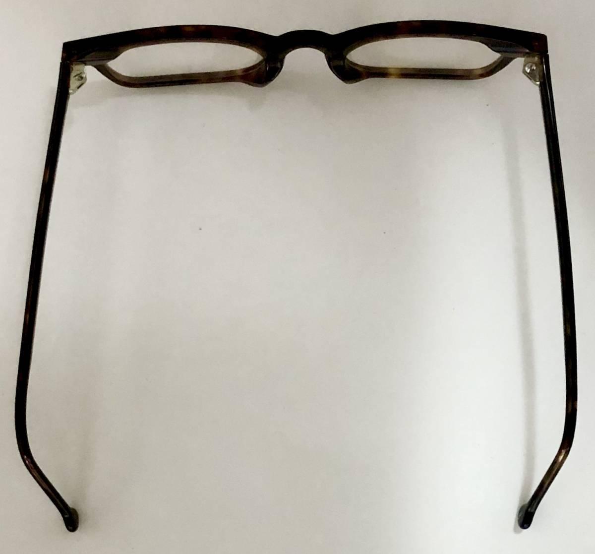 ビンテージ・未使用】1990年代 l.a. Eyeworks イタリア製 べっ甲色 高級メガネ エルエーアイワークス /ヴィンテージ 米国ブランド_画像9