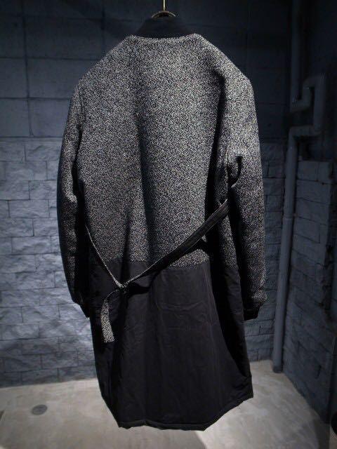 DRESSEDUNDRESSED MA-1 コート ロング丈ジャケット 切替_画像2