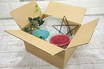 5枚 【 日本製 】 ダンボール (段ボール) 5枚セット 60 サイズ 引越し 梱包 収納 箱 (25×20&ti_画像4