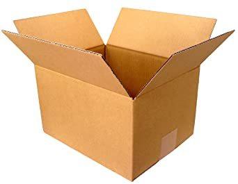 5枚 【 日本製 】 ダンボール (段ボール) 5枚セット 60 サイズ 引越し 梱包 収納 箱 (25×20&ti_画像1